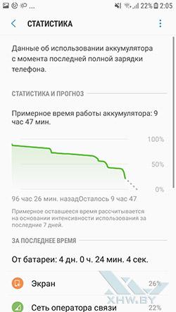 Управление энергосбережением на Samsung Galaxy J7 Neo. Рис. 2