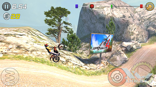 Игра Trial Xtreme 3 на Samsung Galaxy J7 Neo