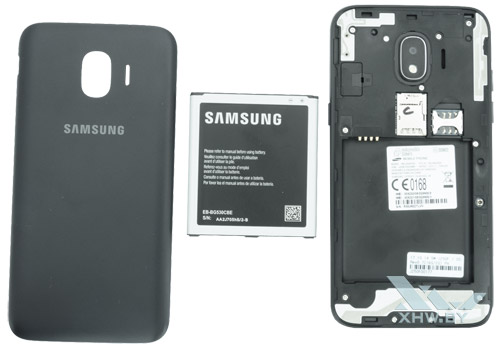 Samsung Galaxy J2 (2018) в разобранном виде