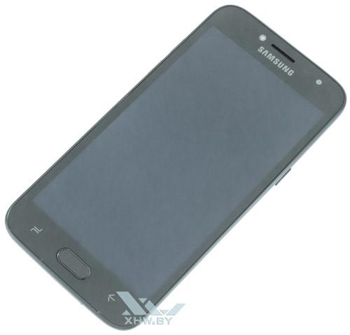 Samsung Galaxy J2 (2018) спереди залит стеклом