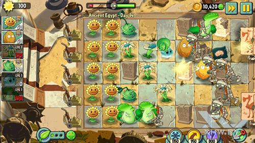 Игра Plants vs Zombies 2 на Samsung Galaxy J2 (2018)