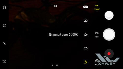 Интерфейс фронтальной камеры Galaxy J2 (2018) рис 1