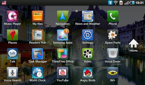 Приложения Samsung Galaxy Tab