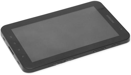 Samsung Galaxy Tab. Вид сверху