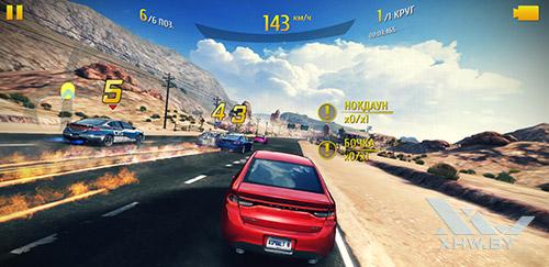 Игра Asphalt 8 на Samsung Galaxy S9