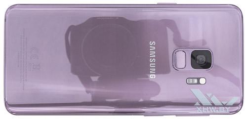 Samsung Galaxy S9. Вид сзади