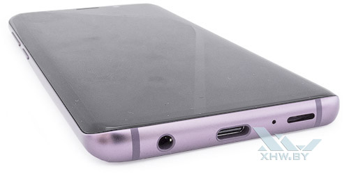 Нижний торец Samsung Galaxy S9