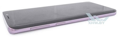 Левый торец Samsung Galaxy S9
