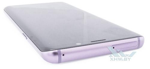 Верхний торец Samsung Galaxy S9