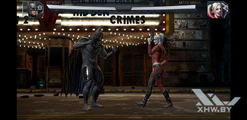Игра Injustice 2 на Samsung Galaxy S9