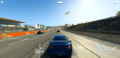 Игра Real Racing 3 на Samsung Galaxy S9