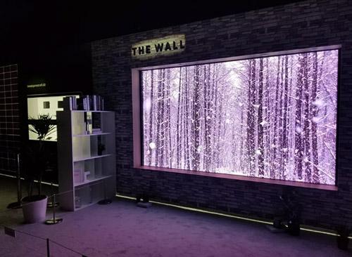 Samsung The Wall – 146-дюймовый экран на базе microLED