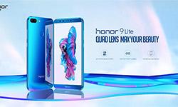 Смартфон с двумя двойными камерами - Honor 9 Lite