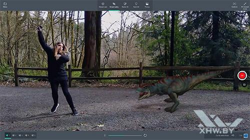 Видео с эффектами в Windows 10