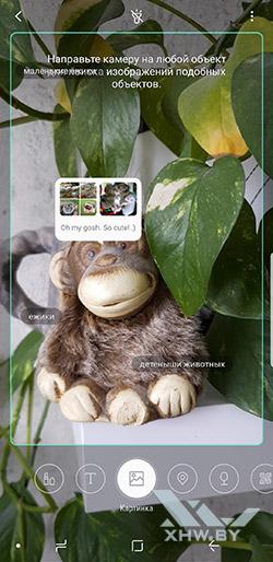 Камера Bixby в Samsung Galaxy S9+ рис. 1