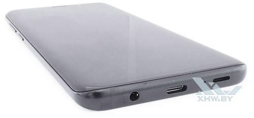 Нижний торец Samsung Galaxy S9+