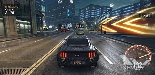 Игра Need For Speed: No Limits на Samsung Galaxy S9+