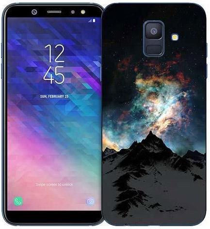 Силиконовый чехол для Samsung Galaxy A6 (2018)