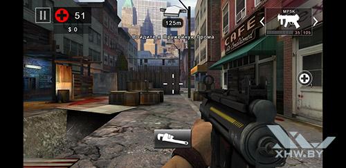 Игра Dead Trigger 2 на Samsung Galaxy A6 (2018)