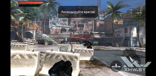 Игра Frontline Commando 2 на Samsung Galaxy A6 (2018)