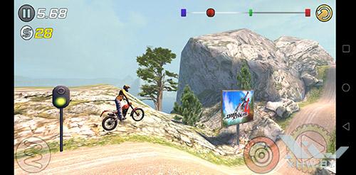Игра Trial Xtreme 3 на Huawei P20 Lite