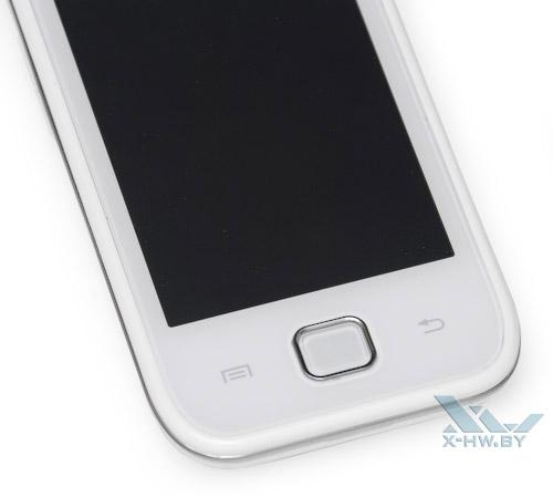 Кнопки Samsung Galaxy Player 50