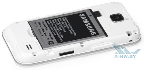 Слот microSD плеера Samsung Galaxy Player 50