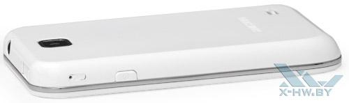 Правый торец Samsung Galaxy Player 50