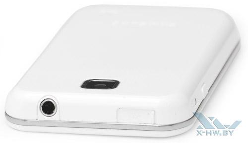 Верхний торец Samsung Galaxy Player 50