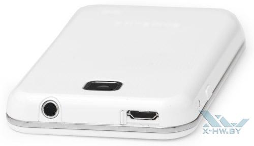 USB-разъема на плеере Samsung Galaxy Player 50