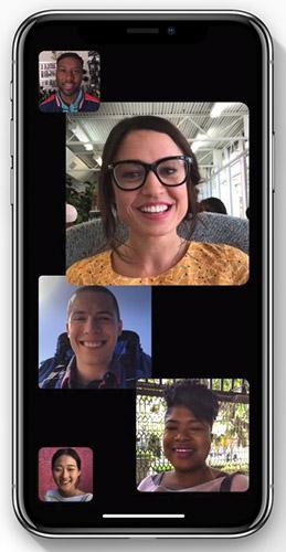 FaceTime в iOS 12 будет поддерживать группы до 32 человек одновременно
