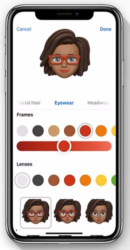 Персонализированные мемодзи в iOS 12