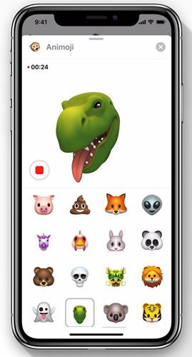 Новые анимодзи в iOS 12