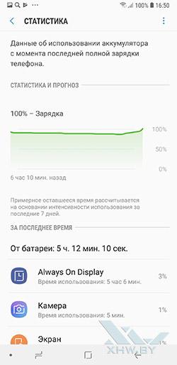 Диспетчер питания Samsung Galaxy A6+ (2018). Рис 3