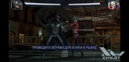 Игра Injustice 2 на Samsung Galaxy A6+ (2018)