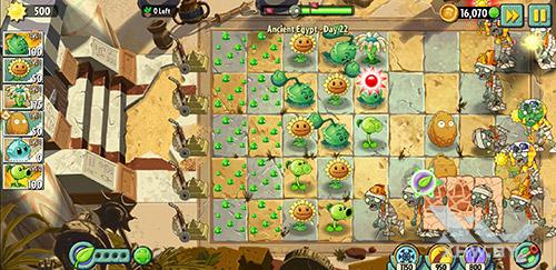 Игра Plants vs Zombies 2 на Samsung Galaxy A6+ (2018)