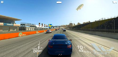 Игра Real Racing 3 на Samsung Galaxy A6+ (2018)