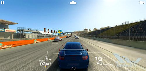 Игра Real Racing 3 на Samsung Galaxy J6 (2018)