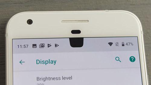 Пресловутая выемка в Android 9