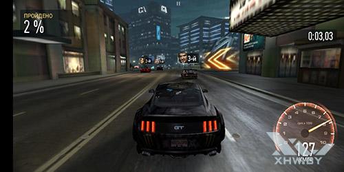 Игра Need For Speed: No Limits на Huawei P20