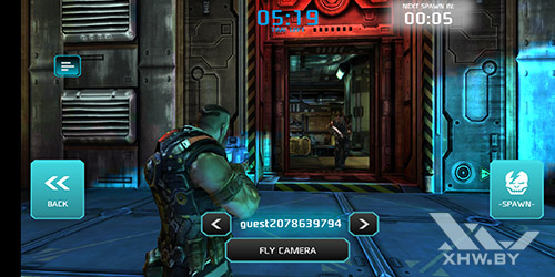 Игра Shadowgun: Dead Zone на Huawei P20