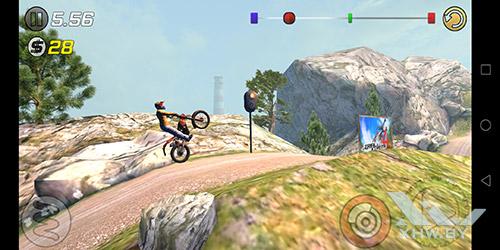 Игра Trial Xtreme 3 на Huawei P20