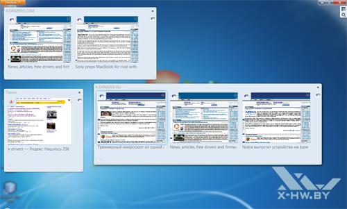 Firefox Panorama в Firefox 4