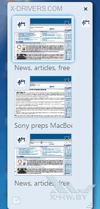 Вертикальная группа вкладок в Firefox 4