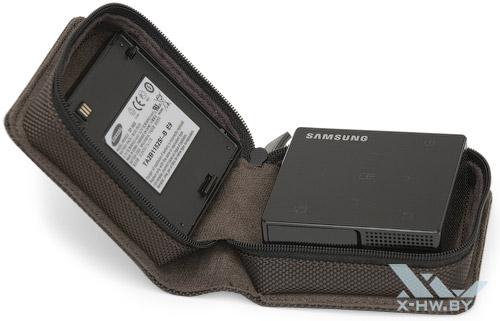 Чехол Samsung SP-H03 вместе с пикопроектором