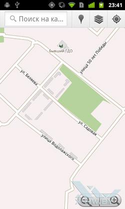 Google Maps на Google Nexus S. Рис. 2