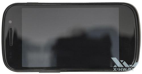 Google Nexus S. Вид сверху