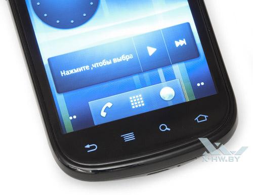 Сенсорные кнопки Google Nexus S