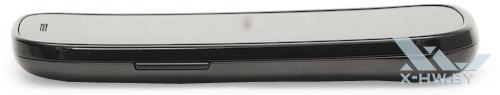 Google Nexus S. Вид сбоку