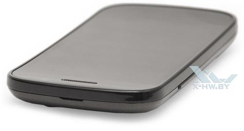 Google Nexus S. Верхний торец